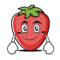Smile Strawberry Cartoon Character Collection Stock Images - 94494914