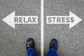 Stress Stressed Relax Relaxed Health Businessman Business Concep Stock Images - 94503804