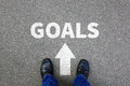 Goal Goals Setting Success New Aspirations Strategy Future Busin Stock Photography - 94504112