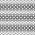 Seamless Monochrome Cobble Stone Pattern Stock Image - 94515951