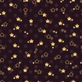 Double Flower Star Seamless Pattern Stock Images - 94563654