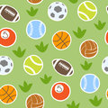 Sport Balls Isolated Vector Collection Seamless Pattern Background Stock Photos - 94569773