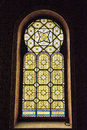 Artistic Window In Spanish Synagogue, Prague, Czech Republic Royalty Free Stock Photography - 94596727