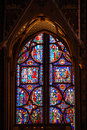 Stained Glass In Sainte Chapelle Paris Royalty Free Stock Image - 9461886