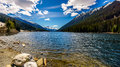 Duffey Lake In The Coast Mountain Range Between Pemberton And Lillooet Royalty Free Stock Photography - 94637647