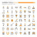 Garden Tool Icons Stock Photography - 94653312
