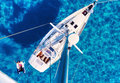 Yacht And Clear Mediterranean Sea Stock Photo - 94678900