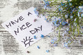 Quote `Have A Nice Day` Stock Photos - 94728973