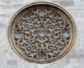 Rose Window On St. Stephen's Cathedral In Vienna Stock Photo - 94745770
