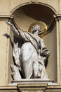 Statue Of Apostle, Church Of Saint Peter In Vienna Stock Images - 94770724