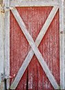 Red And White Barn Door Stock Photography - 94782682