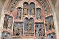 South Portal Of The Church Of St. Mark In Zagreb Royalty Free Stock Photography - 94849217