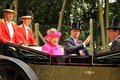 The Queen At Ascot Stock Image - 94874711