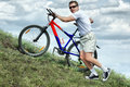 Mature Bicyclist Royalty Free Stock Images - 9491319