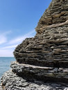 Shale Cliff Royalty Free Stock Images - 94938489