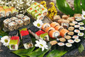 Japanese Sushi Set Royalty Free Stock Photography - 94950797