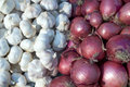 Onion And Garlic Stock Image - 954621