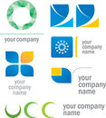 Set Of Prototype Logos Royalty Free Stock Photo - 9500335