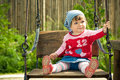 Child On The Swings Stock Images - 9503354