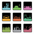 Furniture Icons Royalty Free Stock Photography - 9508837
