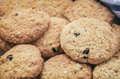 Oatmeal And Raisin Cookies Stock Photography - 95000482