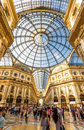 Galleria Vittorio Emanuele II In Milan, Italy Royalty Free Stock Images - 95037259