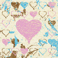 Abstract Grungy Heart Illustration Raster Stock Photo - 9512640