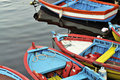 Colored Boats Royalty Free Stock Image - 9525926