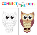 Children`s Educational Game For Motor Skills. Connect The Dots Picture. For Children Of Preschool Age. Circle On The Stock Images - 95253044