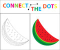 Children`s Educational Game For Motor Skills. Connect The Dots Picture. For Children Of Preschool Age. Circle On The Stock Image - 95253381