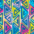 Seamless Tribal Boho Pattern. Royalty Free Stock Images - 95340889