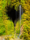 Heart Shape Waterfall In The German Mountains. Royalty Free Stock Photography - 95398777