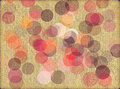 Textured Background With Circles Stock Photos - 9552483