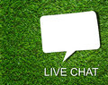 Live Chat Concept Royalty Free Stock Images - 95517099