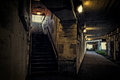 Dark City Train Entrance Tunnel Stock Images - 95533604