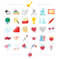 Balls, Cups, Coffee And Other Web Icon In Cartoon Style.  Royalty Free Stock Photos - 95540398