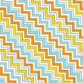 Chevron Zigzag Diagonal Lines Seamless Pattern. Striped Abstract Background With Classic Geometric Ornament. Royalty Free Stock Images - 95548259