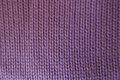 Handmade Pink Plain Stockinette Fabric From Above Royalty Free Stock Images - 95562869