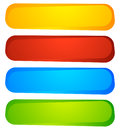 Abstract Button Or Banner Backgrounds, Shapes. Colorful Abstract Stock Images - 95581204