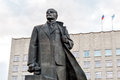 Monument To Vladimir Lenin On The Lenin Square In Arkhangelsk, Russia Royalty Free Stock Image - 95591536