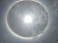 The Sun Halo, Sun Corona Royalty Free Stock Photography - 95614017