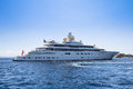 Luxury Yacht In The Sea Royalty Free Stock Images - 95642169
