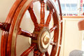 Old Boat Steering Wheel Royalty Free Stock Images - 95646079