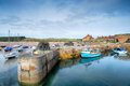 Beadnell Harbour Stock Image - 95671061