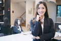 Asian Business Women And Group Using Notebook For Meeting And Bu Stock Photo - 95682880