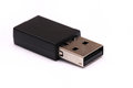 A Black USB Dongle Royalty Free Stock Image - 95697716