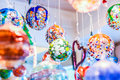 Murano Glass Ball Decorations Stock Images - 95715384