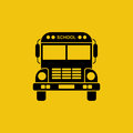 School Bus Icon Stock Photography - 95724052