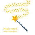 Magic Wand With A Star Royalty Free Stock Photo - 95725585