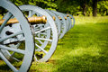 Battery Of Cannons Ready To Defend Valley Forge Royalty Free Stock Photo - 95742625